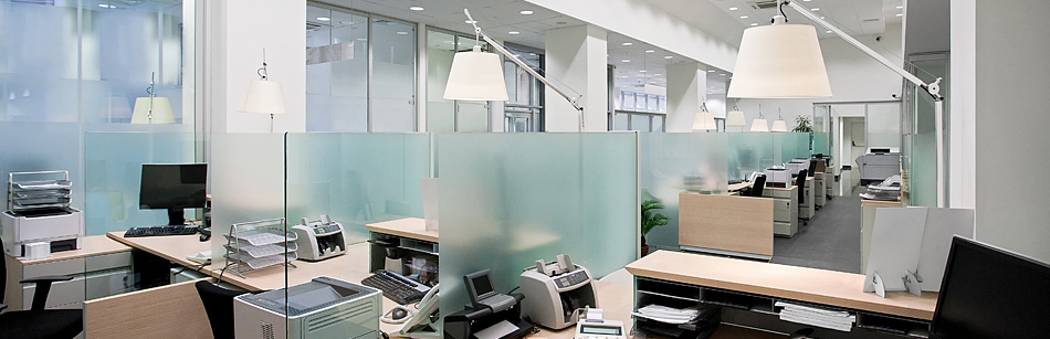 Clean work spaces increase job satisfaction and productivity.